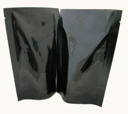70g Stand Up Pouch - Solid Black