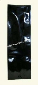 1Kg Side Gusset Bag (Quad Seal) - Black