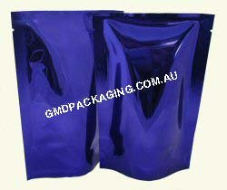 70g Stand Up Pouch - Solid Blue