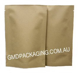 70g Stand Up Pouch - All Natural Kraft Paper